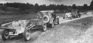 полноприводный первый советский джип газ - 64